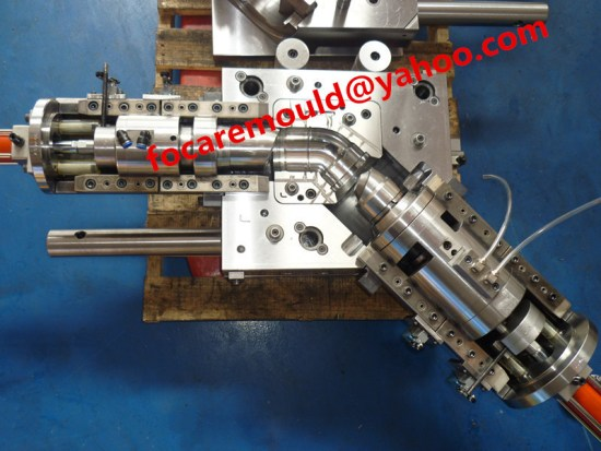 China PVC mould collapsible core