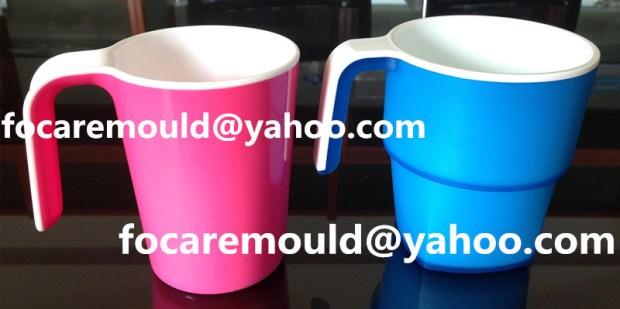 China rotary mug mold manufacturer