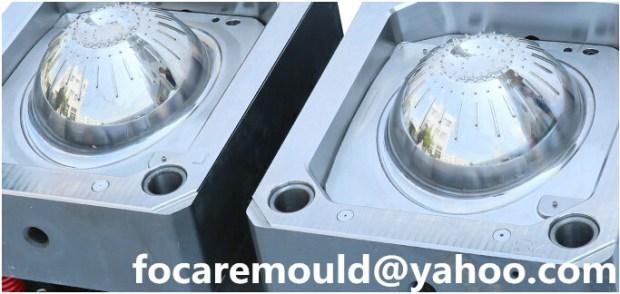 China salad drainer bowl rotary mold