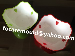 China two color molding