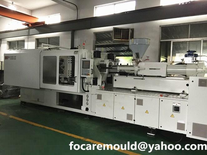 2k mold axis rotary machine