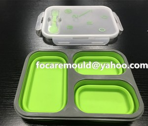 2k mold China foldable food containers