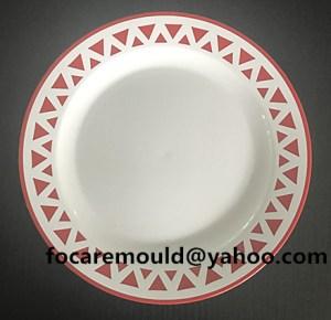 China bi shot mold service plate die
