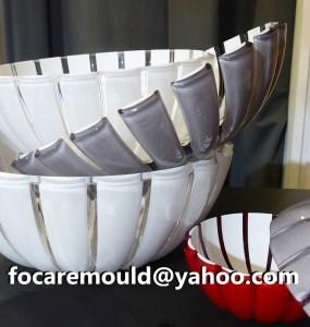 China 2K serving bowl mold