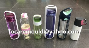 two color sports water bottle