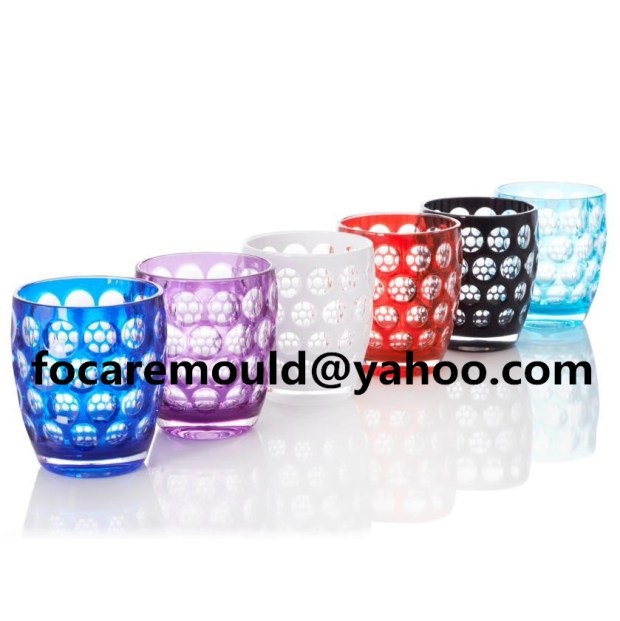 China 2K mold plastic cups