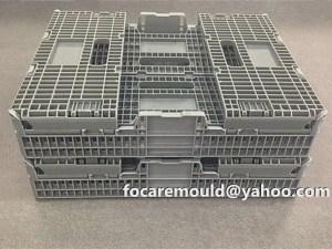 China box mold klappbox active lock