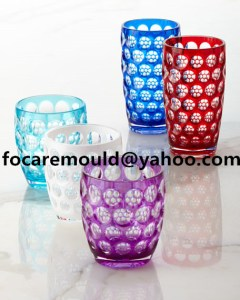 China double color beer tumbler injection mold