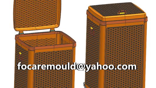 China rattan basket mold laundry
