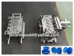 China flip top auto close in mold