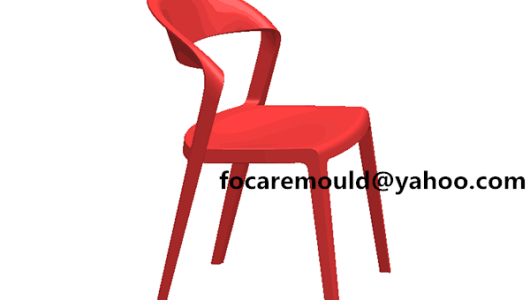 China gas assistant armless chair mold