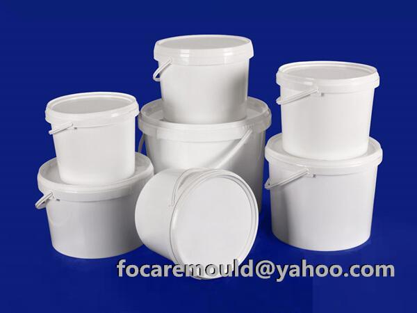 China mold IML bucket