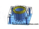 China pail mold design