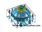 China paint bucket mold design