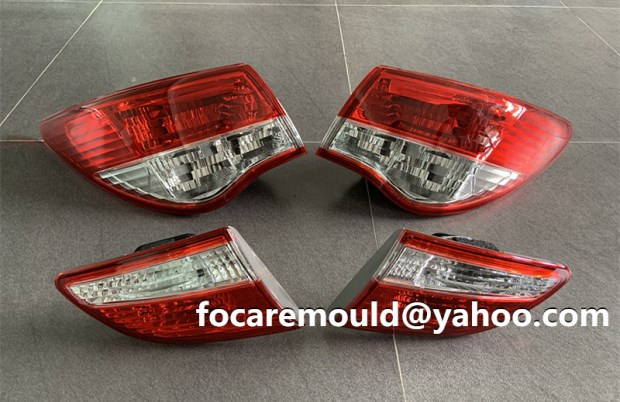 two color automobile lamp mold
