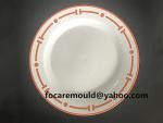 dinner plate bi color mold design