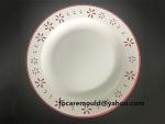 serving plate double colour