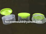 shampoo bottle flip cap double mold