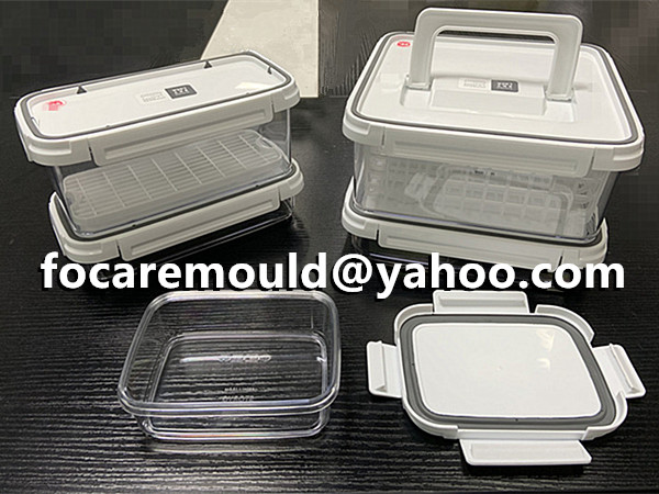 multi material crisper injection mold