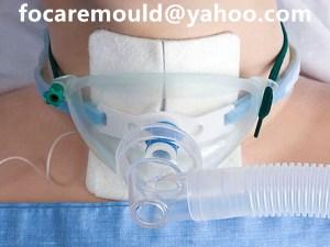 bi shot tracheostomy mask mold