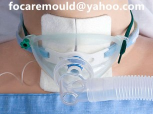 bi shot tracheostomy mask mold