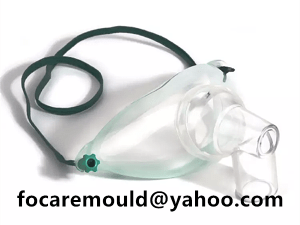 two color tracheostomy mask mold