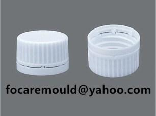 slider system plastic closure mold