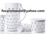 two shot mixing jug mold