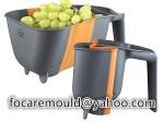 multi shot fold dish washer mold