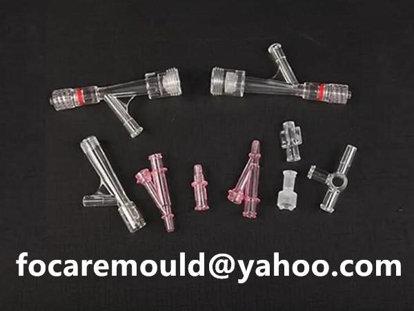 medical Y connector mold