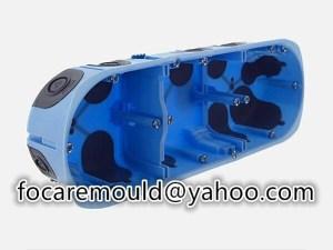 multi shot cable coupling enclosure mold