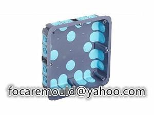 multi shot mounting box mold