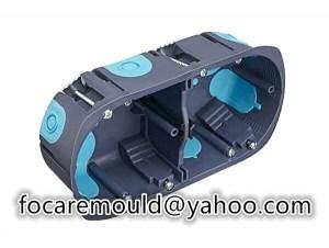 multi shot pattress box mold