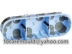 multi shot plastic enclosure mold