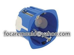 multi shot platt electric box mold