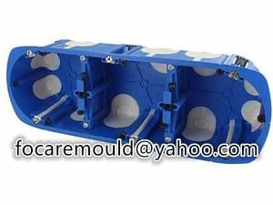 multi shot socket box mold