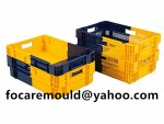 two shot stacking crate mold