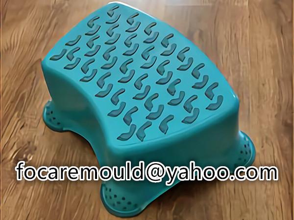 bi material baby step stool mold
