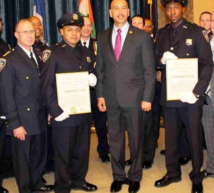 Congratulations F.O.C.O. members  C.O. Rondolfo Hernandez and C.O. Brian Bishop