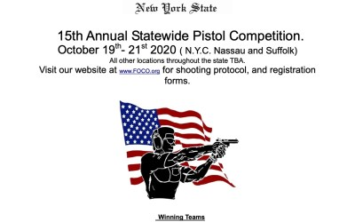 Fifteenth Annual F.O.C.O. Pistol Competition