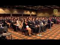 Discurso de Ana María Ibañez, Decana de Economía de Uniandes, en grados de la universidad