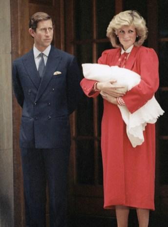 Princesa Diana y Harry j