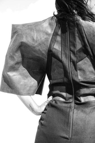 Detail back of dress1 design I made