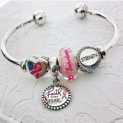 Breast Cancer Charms