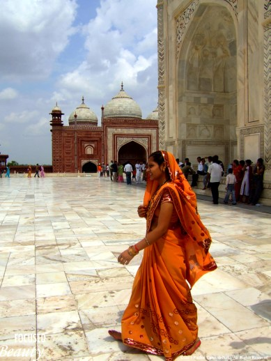 """Going for a Walk at the Taj"" by Rachel Cancino-Neill taken in Agra, India; 2010"