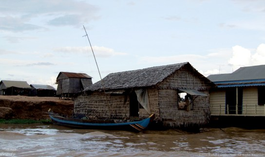 A Floating House and its Boat