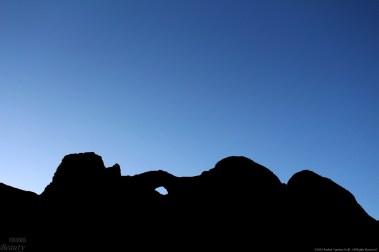 Blue in the Desert