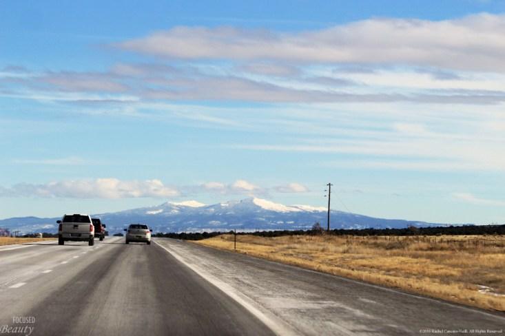 Moving toward the mountain