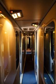 Amtrak Roomette Sleeper Cabin
