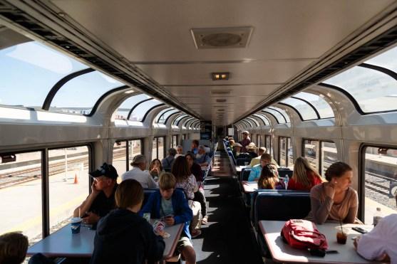 Amtrak California Zephyr Observation Car